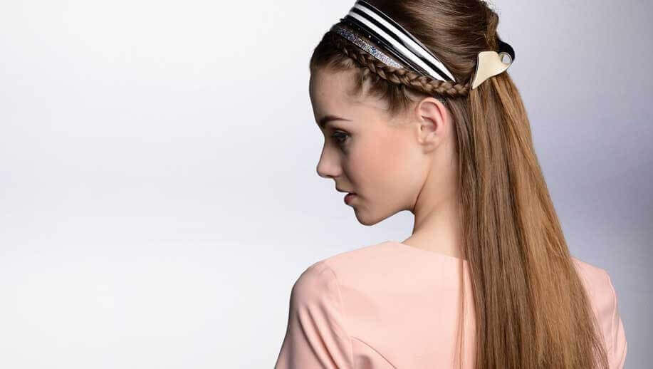 Kosmart hair ponytail holder and headband
